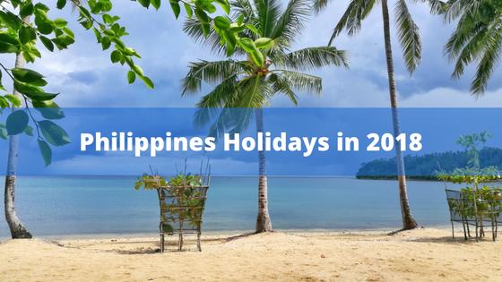 List of Philippine Holidays in 2018 | Escape Manila