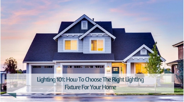 How To Choose The Right Lighting Fixture For Your Home