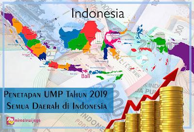 Penetapan UMP Tahun 2019 Semua Daerah di Indonesia