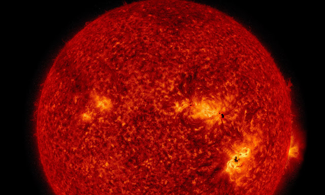 太陽爆發10年來最大「反常閃焰」,可能導致地球通訊暫時故障 !