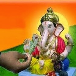 Ganesh ji and Durva