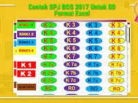 Contoh SPJ BOS 2017 Untuk SD Format Excel