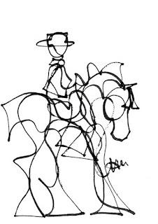La Maestria Lapiz Bocetos Modernos Caballos