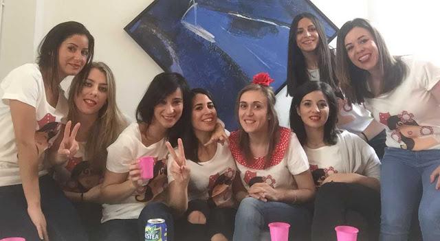 Camisetas despedida de soltera flamenca Pikapic