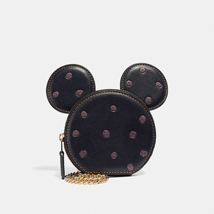 Coach Minnie Mouse coin case