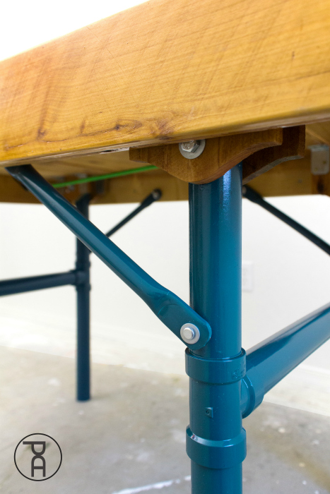 How To Make An Outdoor Folding Table Tutorial Pneumatic Addict - How To Make A Small Folding Table