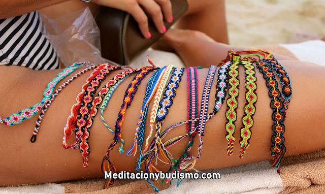 Significado místico del color de las pulseras