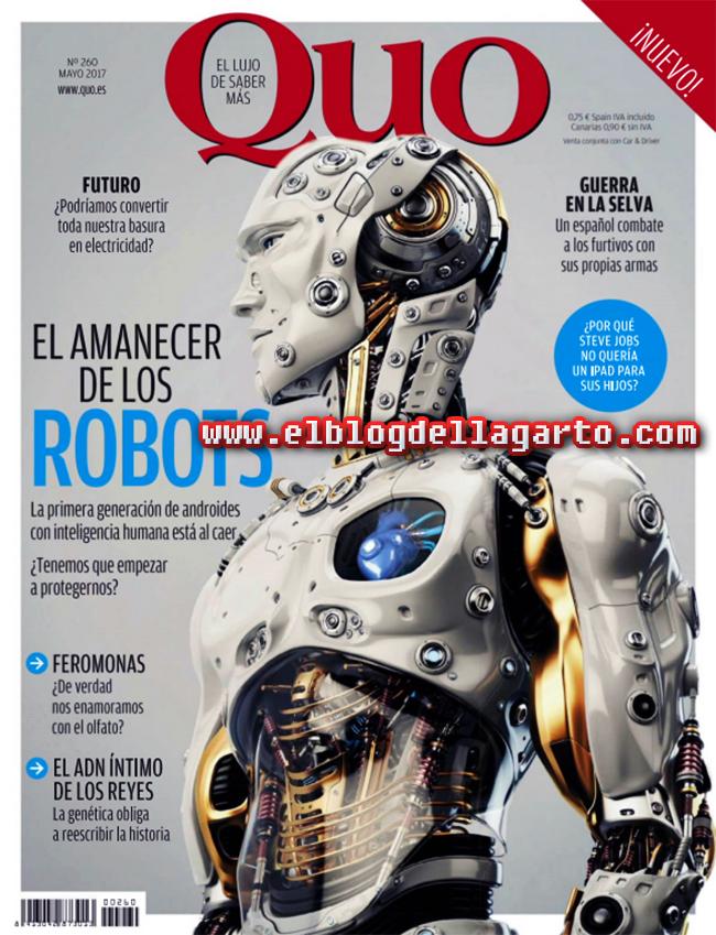 Revista QUO - El Amanecer De Los Robots