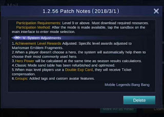 Patch Notes 1.2.56