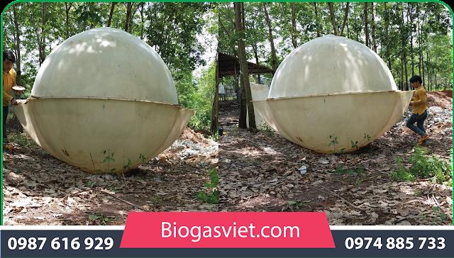 hầm nhựa biogas