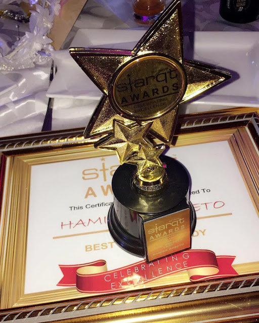 Model Hamisa Mobetto Wins an Award as Best Dressed Lady in ...