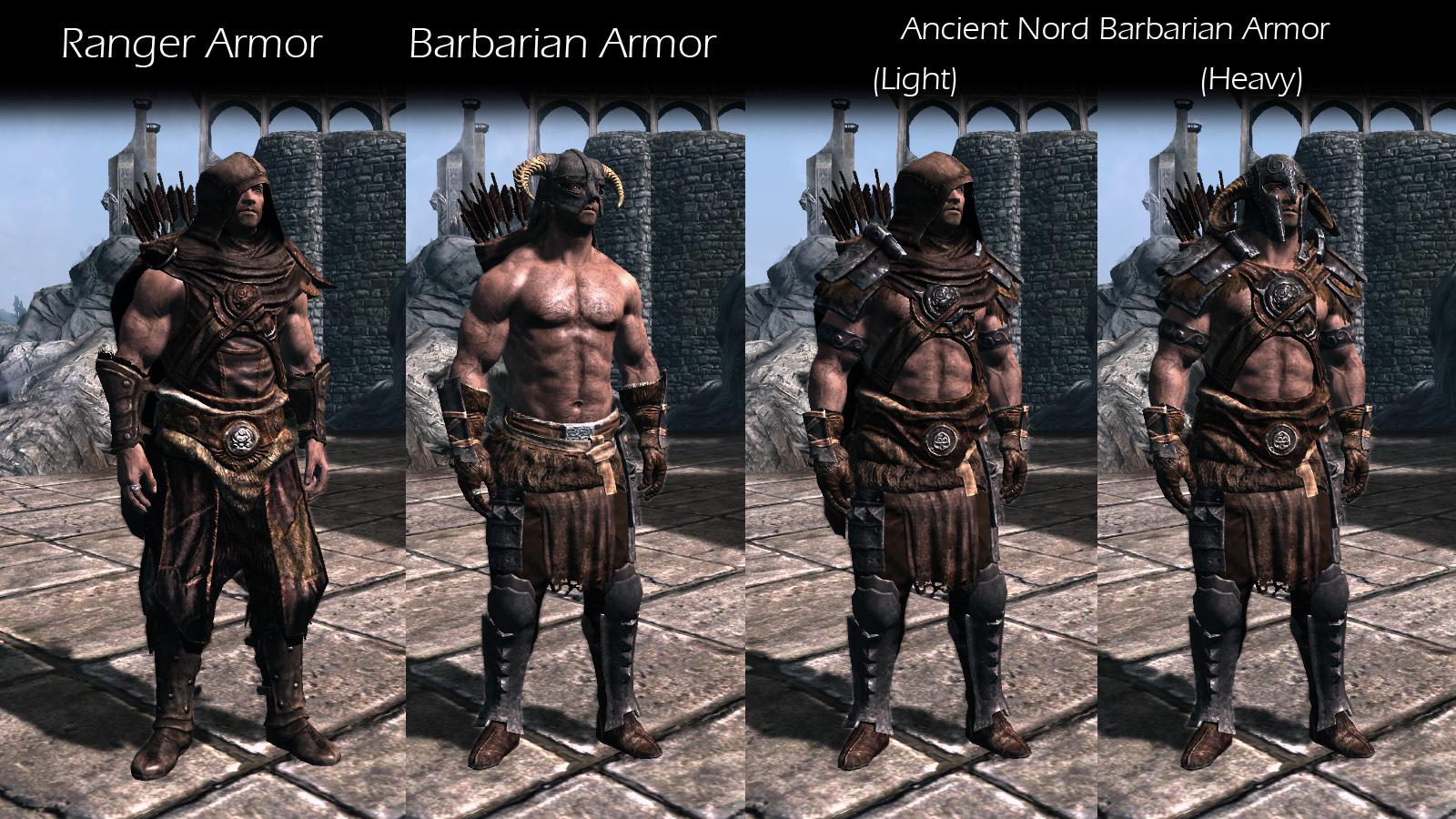 female nord armor Skyrim ancient
