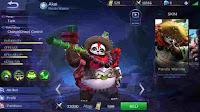 Akai Baru Panda Warrior, Build, Skill, Ability, Dan Set Emblem Yang Cocok