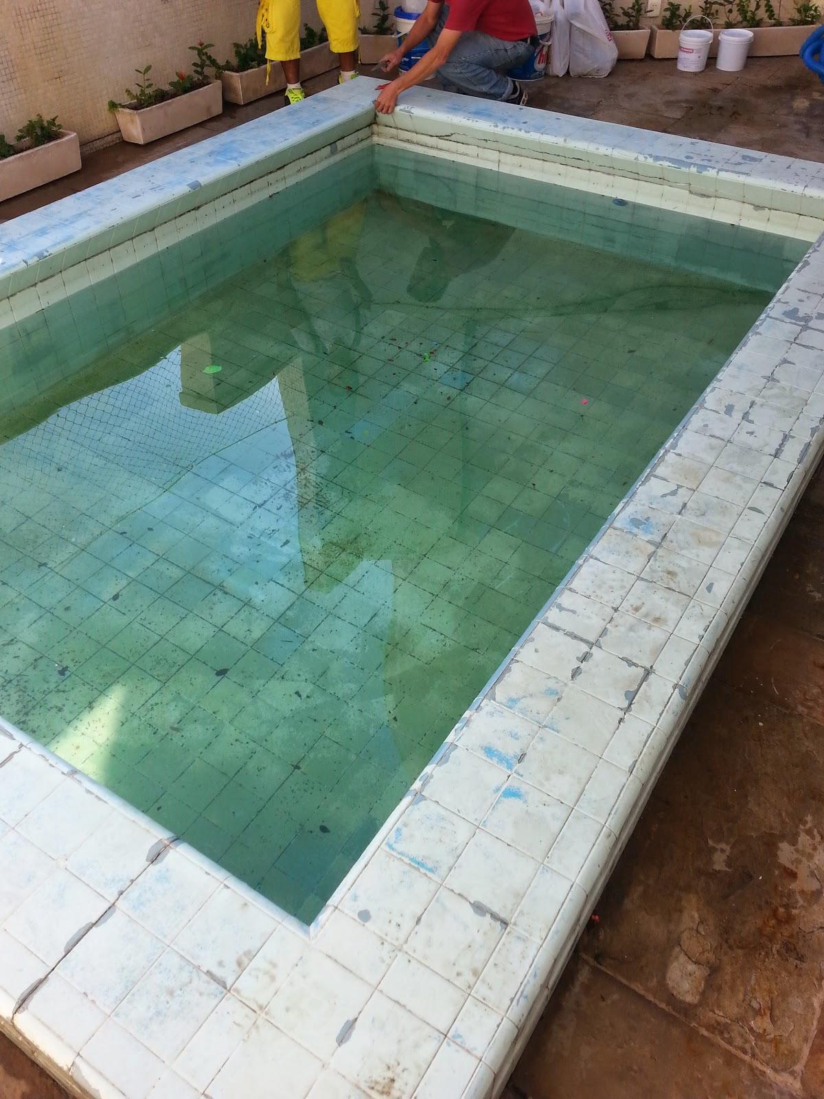 Pintura piscina de azulejo com tinta epoxi 05 cinco anos - Pintura para piscina ...