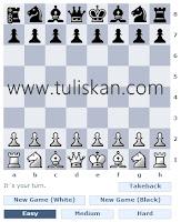 Cara Membuat Permainan Catur/Chess di Blog