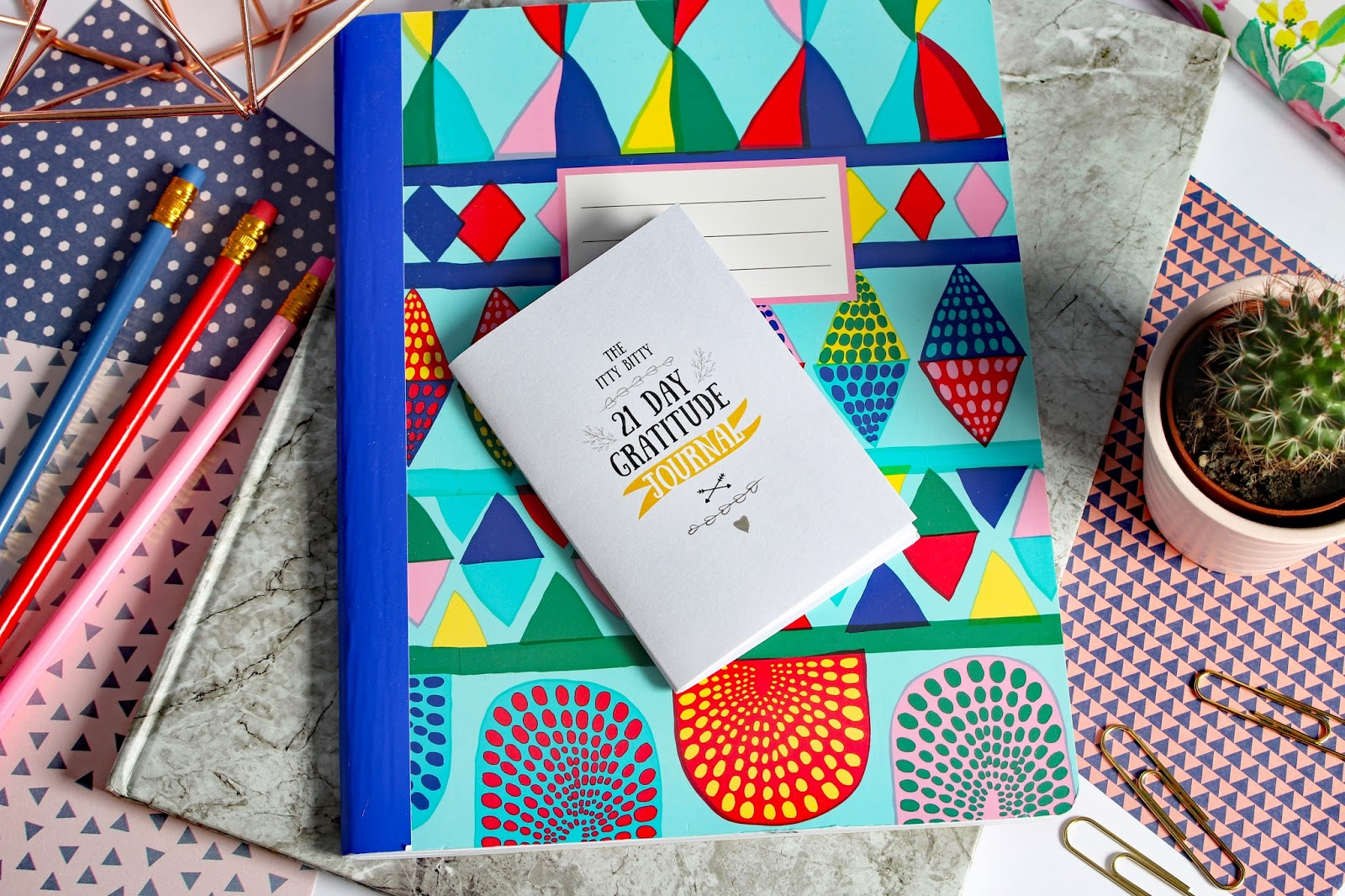 Mental Health Favourites (August 2017) itty bitty book co gratitude diary notebook