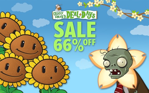 Video games: Plants Vs Zombies for iPad/iPhone back at 59p @ UK