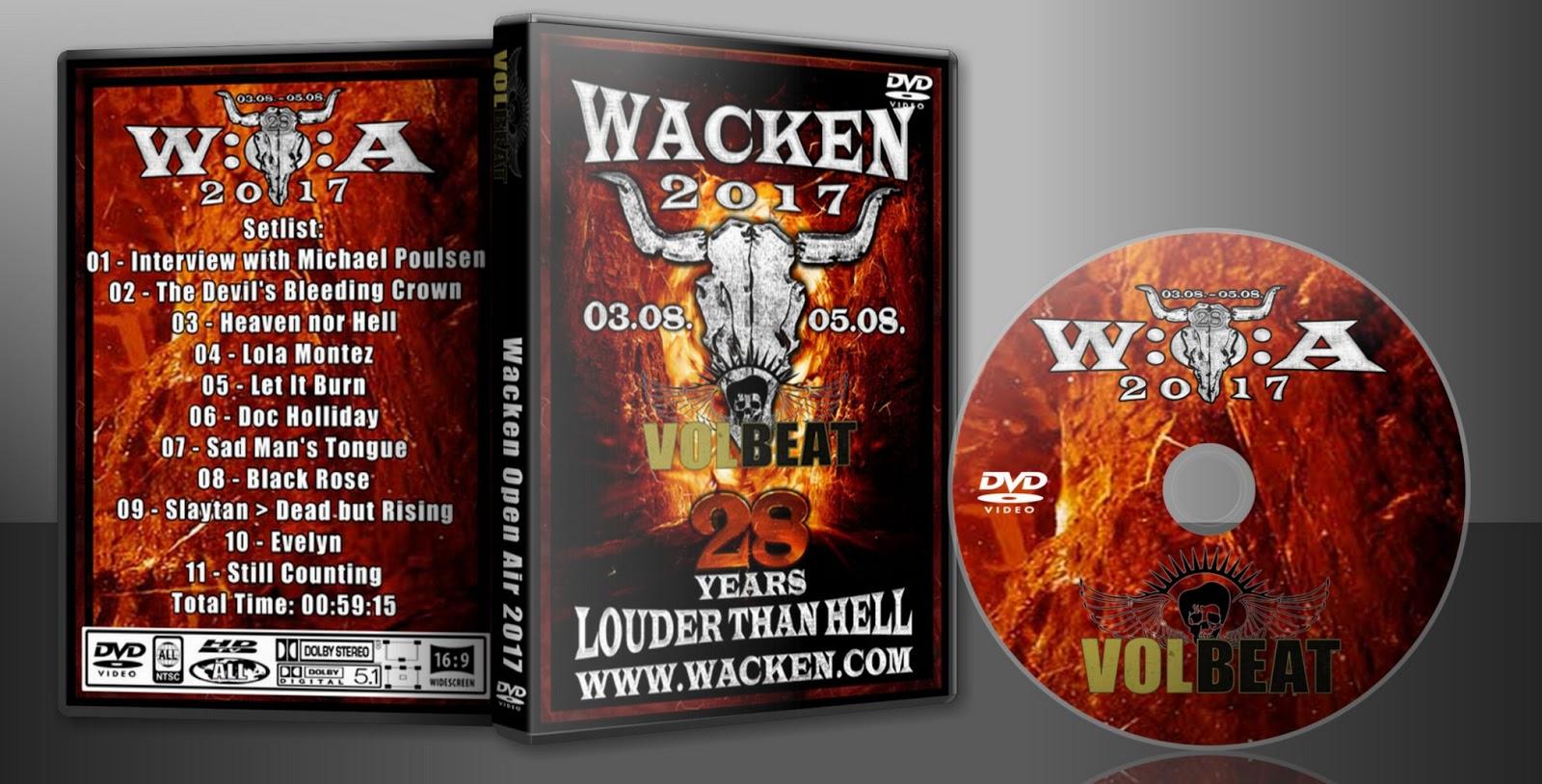 Deer5001RockCocert : Volbeat - Wacken Open Air - 2017-08-03