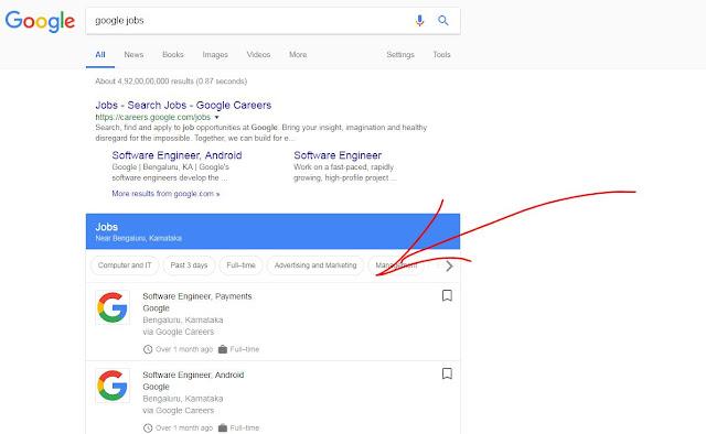 google jobs portal