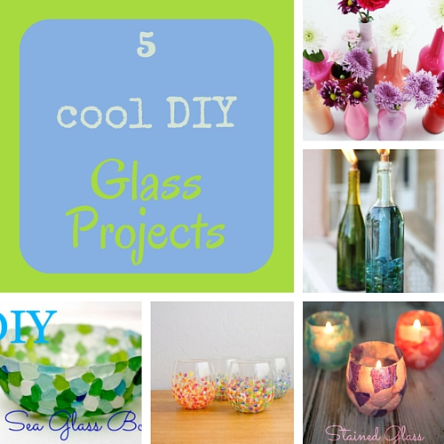 5 cool DIY glass projects