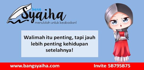 biaya resepsi mahal, pernikahan, walimahan mewah, Bang Syaiha, http://www.bangsyaiha.com/