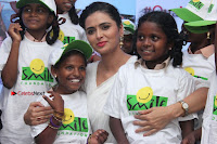 Shriya Saran and Meenakshi Dixit Pos at Quaker Feed A Child Campaign  0036.jpg