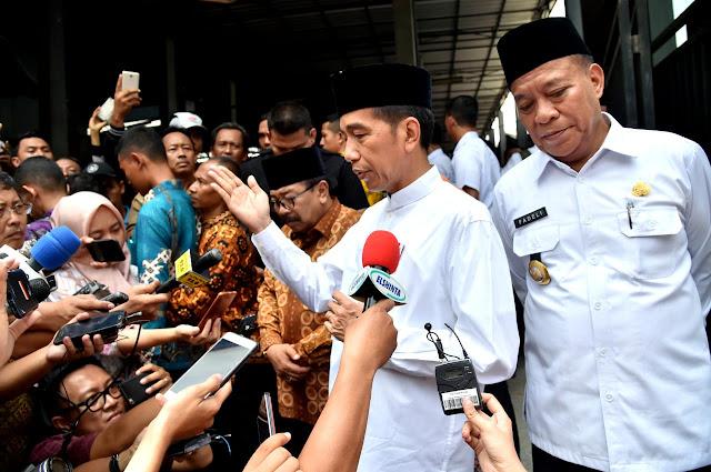 Jokowi Yakin Meraih 70 Persen Suara Di Provinsi Lampung
