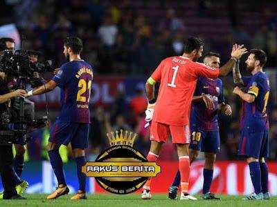 Gawang Buffon Dibobol Tiga Kali Tanpa Balas Oleh Barcelona