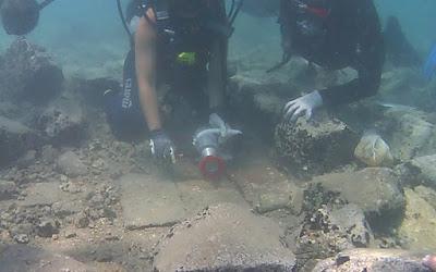 Συνεργασία Ελλάδας - Ιταλίας για συντήρηση έπαυλης στο βυθό της αρχαίας Επιδαύρου