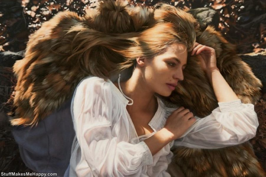 Oil Paintings: Marvelous Hyper-Realistic Female Portraits by Yigal Ozeri