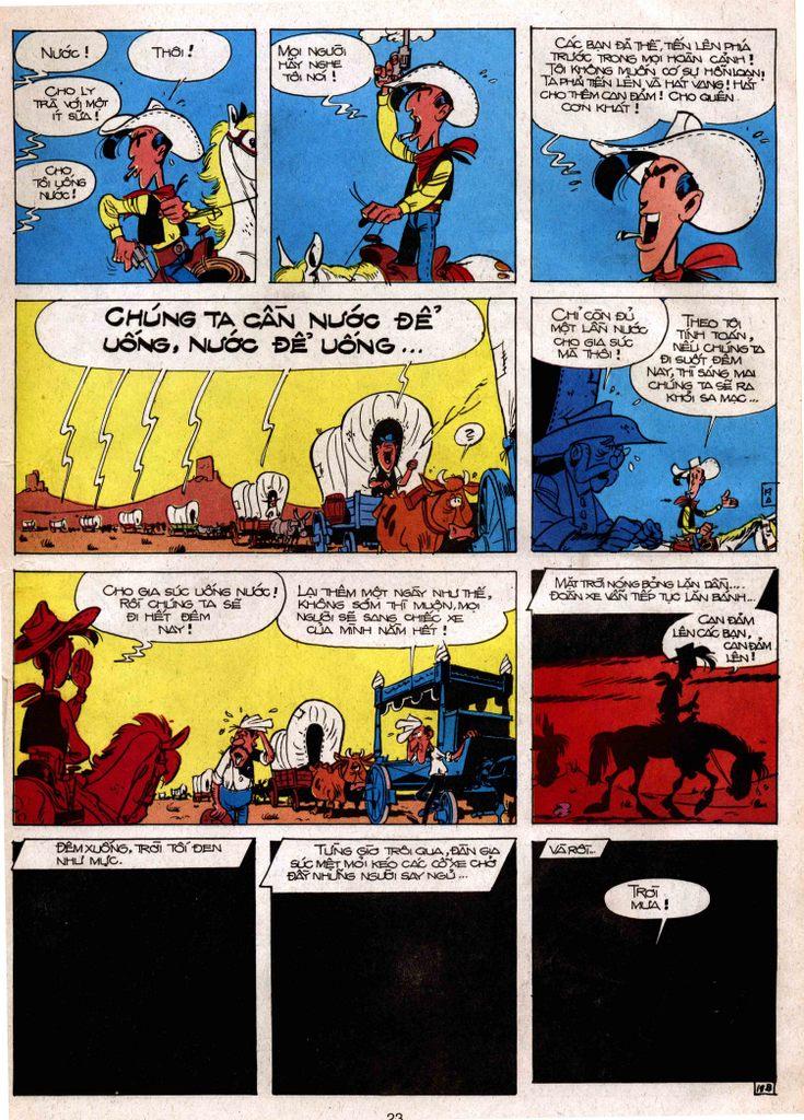 Lucky Luke tap 3 - doan lu hanh trang 18