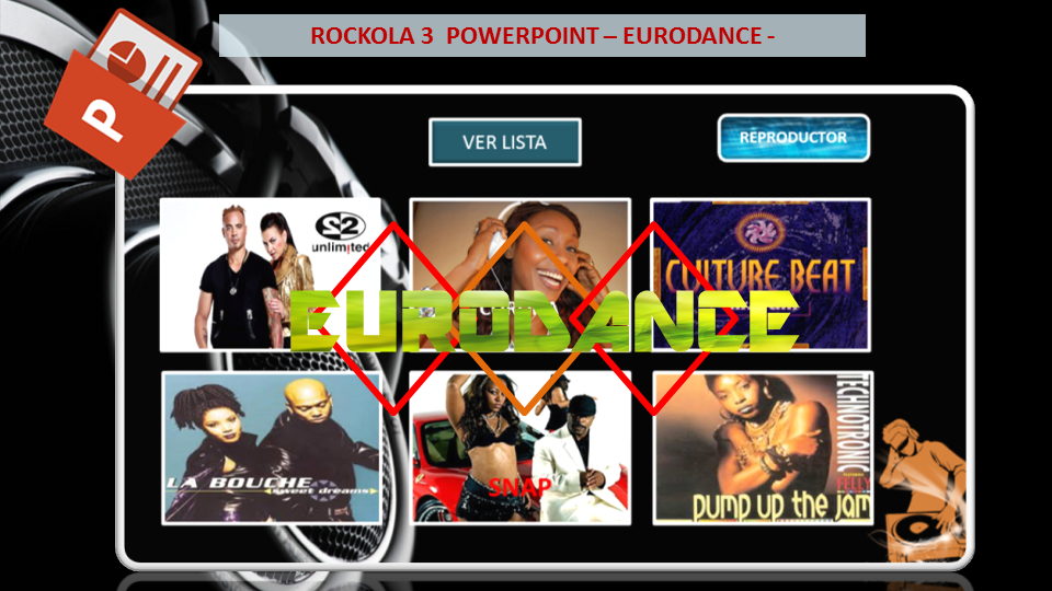 Rockola 3 PowerPoint – Eurodance [+Descarga] [MF]