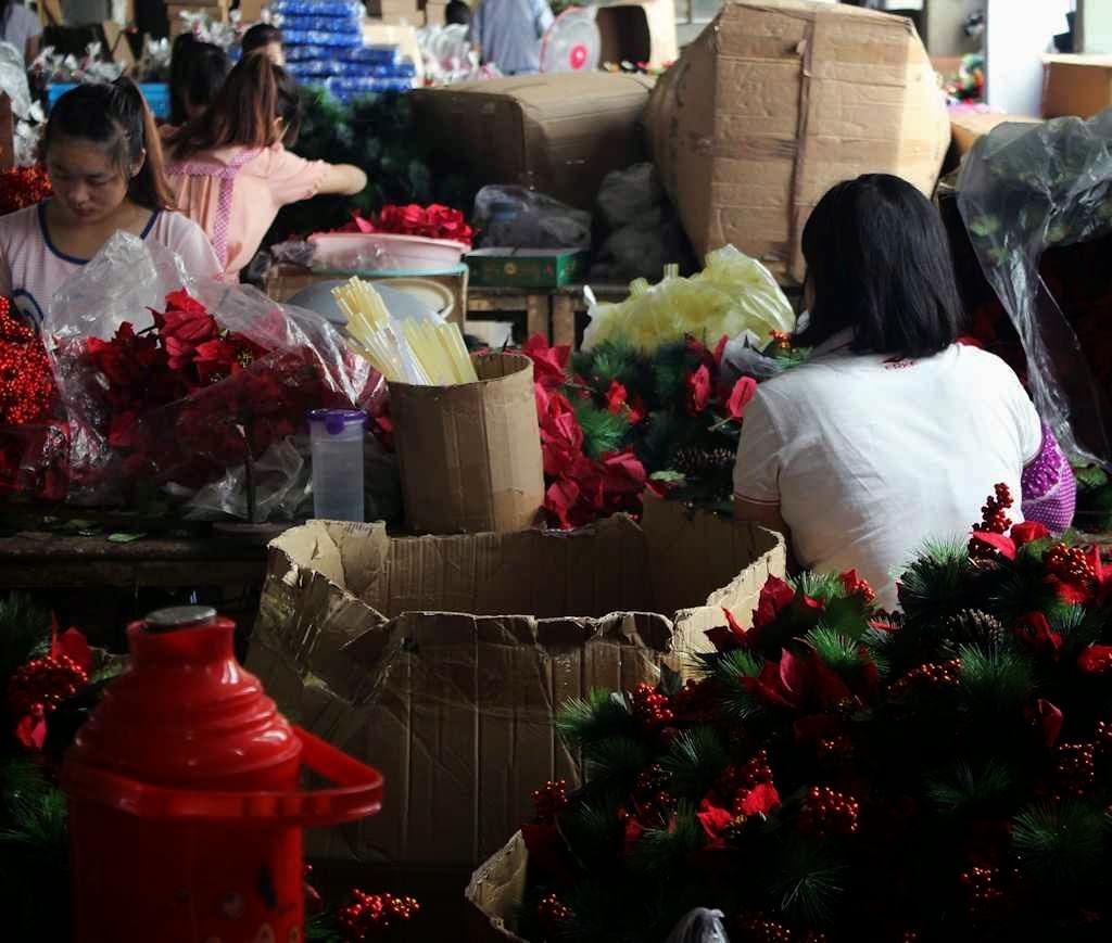China é o maior produtor mundial de enfeites de Natal