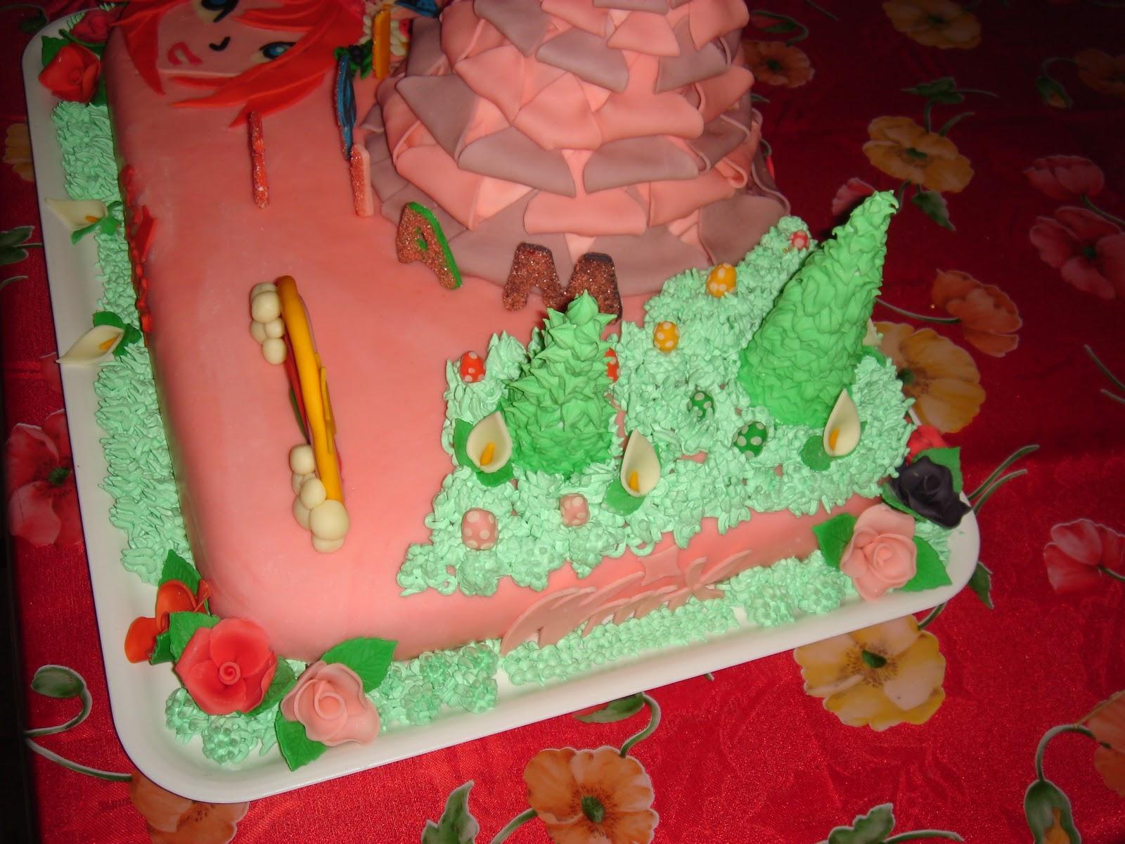 A casa di Chellina Foto torta delle winx bloom