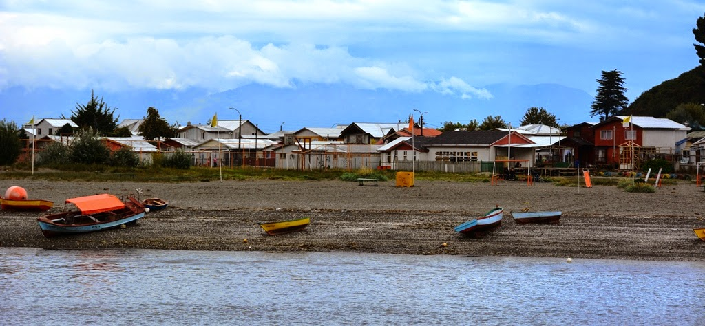 Puerto Montt fisher boats