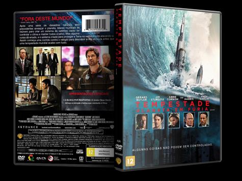 Capa DVD Tempestade: Planeta em Fúria [Custom]