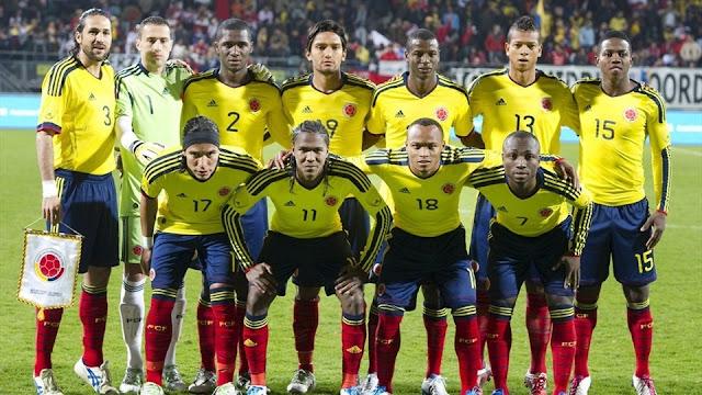 Formación de Colombia ante Chile, amistoso disputado el 29 de marzo de 2011
