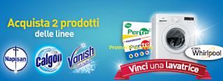 Logo Fiera del Bianco Pam Panorama: vinci 10 lavatrici Whirlpool