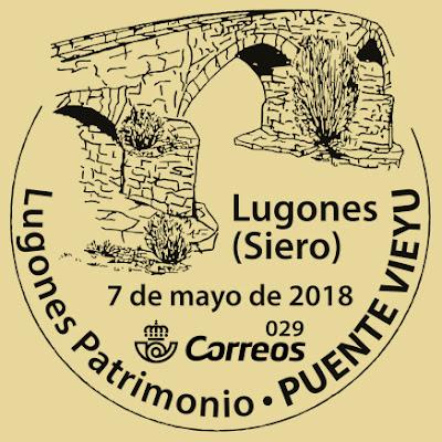 Matasellos del Puente Viejo de Lugones