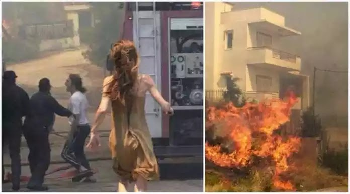 Νεκρό βρέφος έξι μηνών στην Ραφήνα από τη φωτιά