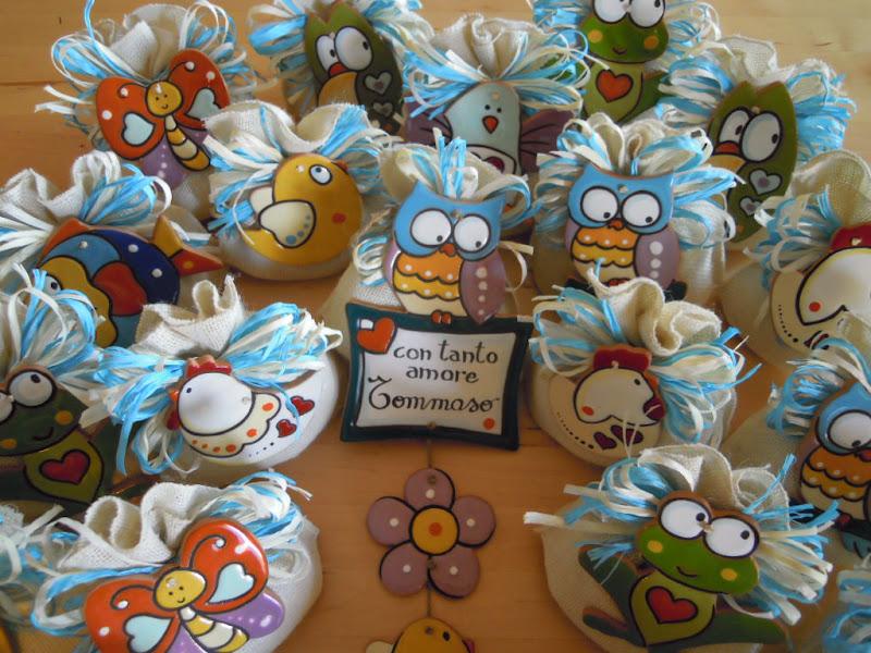 Eccezionale ceramica come mestiere: I simpatici e colorati animali di ceramica  MB07