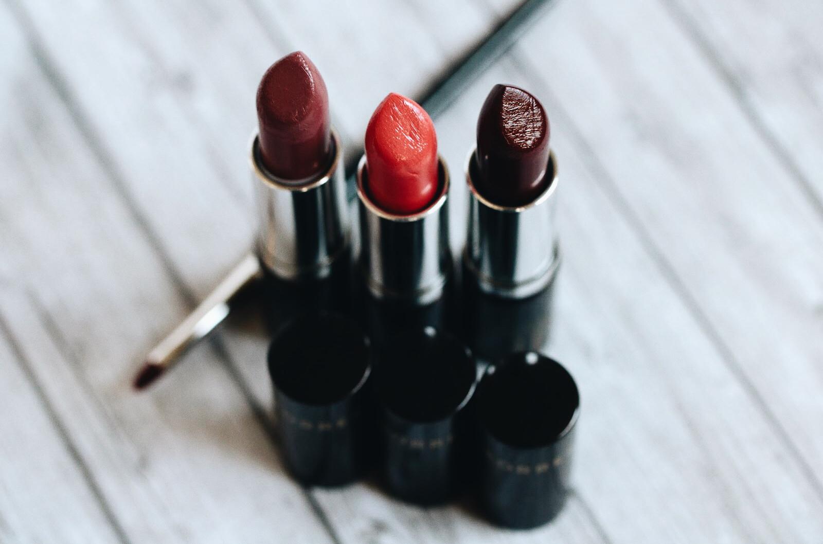 korres rouge à lèvres morello avis test swatches