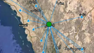 Saudi Arabia .. Earthquake with 4 degrees hit northern Nimas