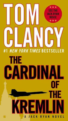The Cardinal of the Kremlin by Tom Clancy - book cover