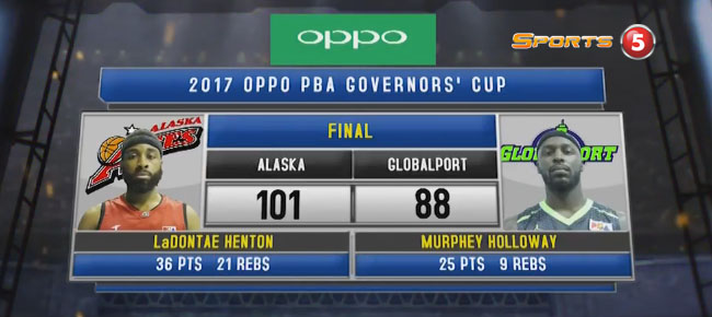 Alaska def. GlobalPort, 101-88 (REPLAY VIDEO) September 8