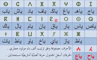 تعلم اللغة الامازيغية