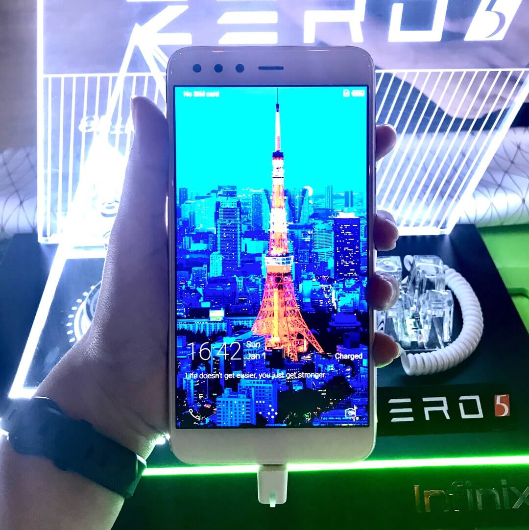 Infinix Zero 5 Lands in PH; 5.98-inch FHD, Helio P25, 6GB RAM, Dual Cameras for PhP13,999