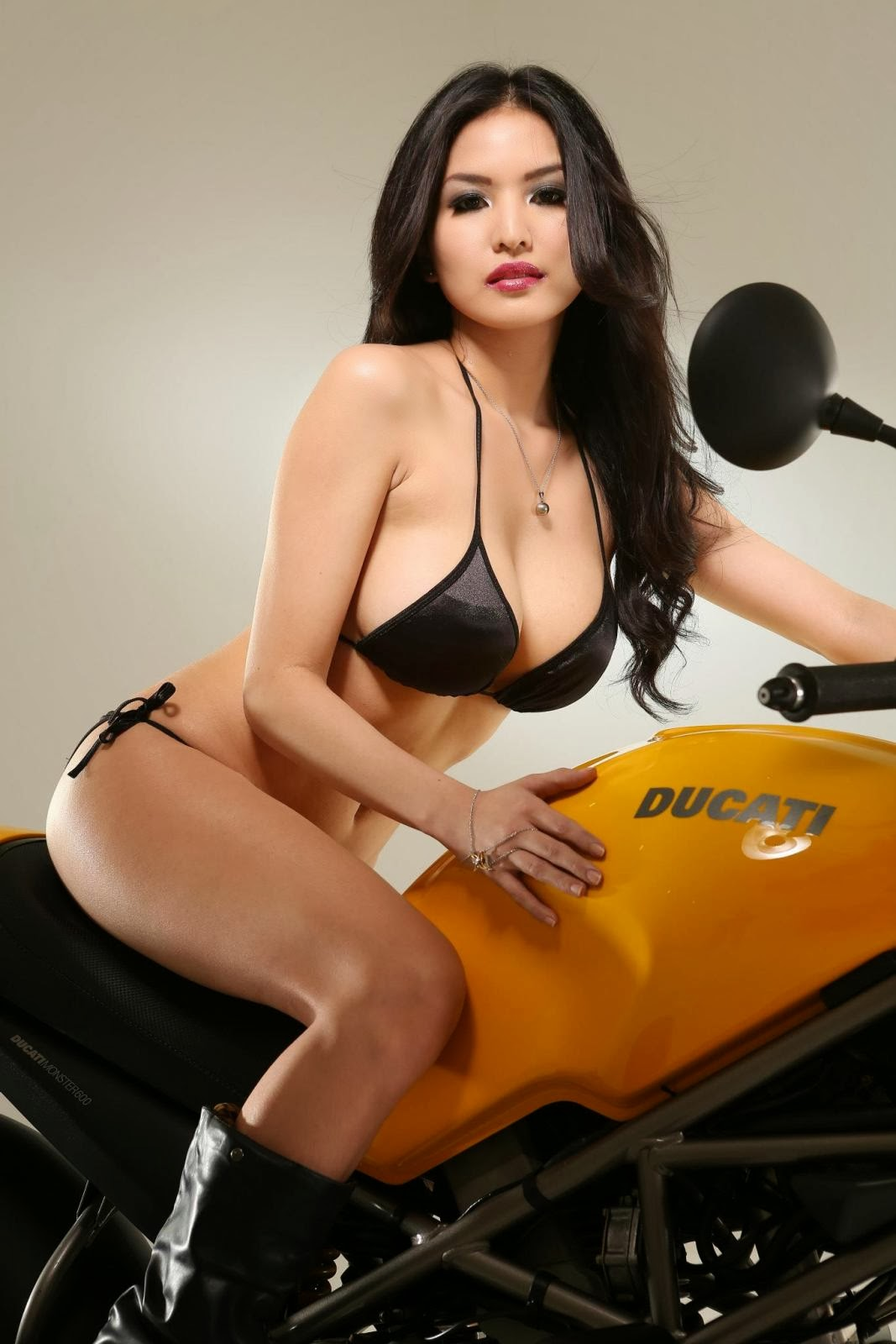 abby poblador with ducati big bike 01