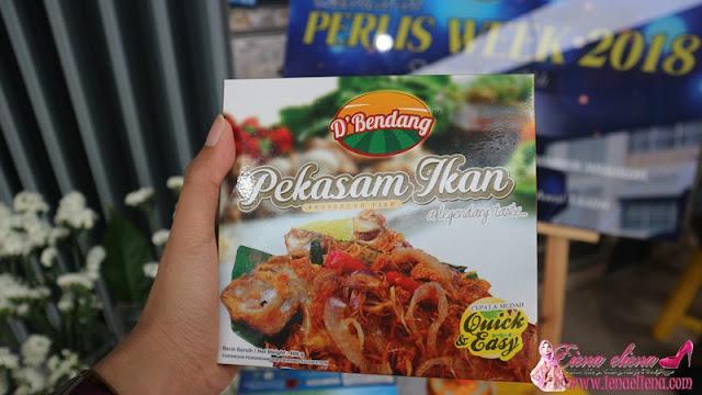 Pekasam Ikan Antara Produk Makanan Perlis