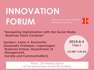 Forum 2019.6.4 Liana V. Razmerita